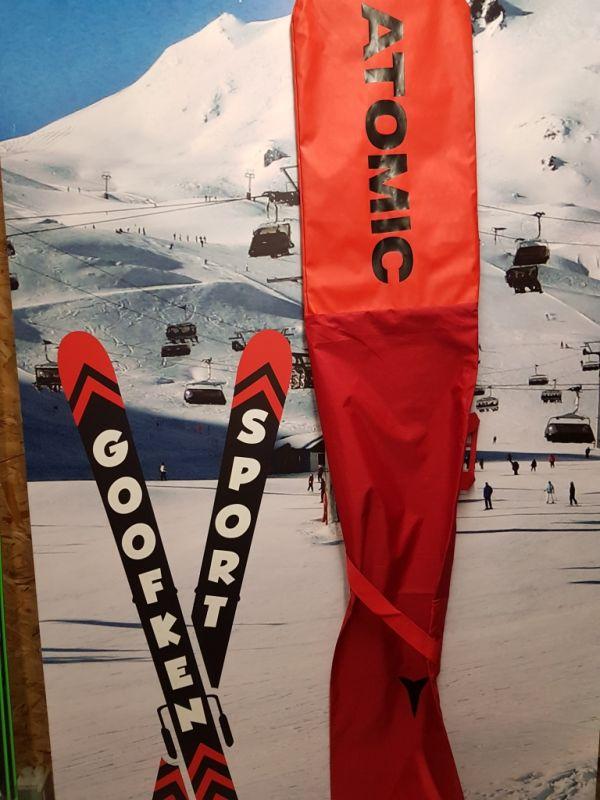 Skisleeve atomic redster orange