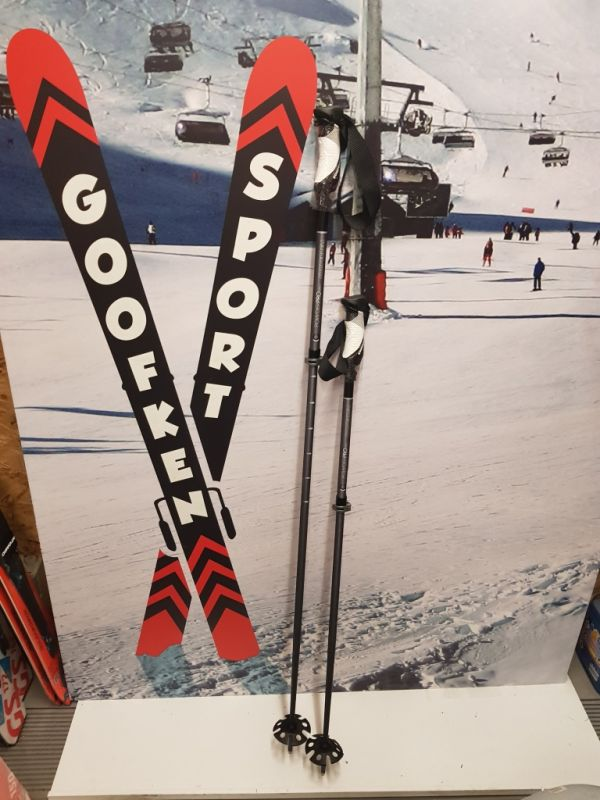 Verstelbare skistok van Komperdell van 105 cm tem 135 cm